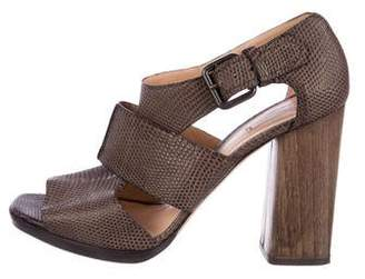 Reed Krakoff Karung Caged Sandals