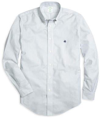 Brooks Brothers Non-Iron Milano Classic Stripe Sport Shirt