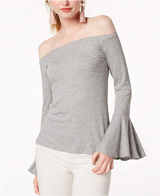 Bar III Off-The-Shoulder Top, Created for Macy's