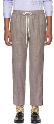 Gucci Multicolor Houndstooth Trousers