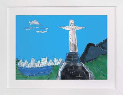 The Redeemer, Rio Art Print