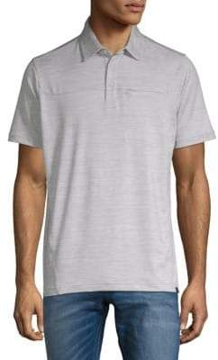Hawke & Co Heathered Short-Sleeve Polo