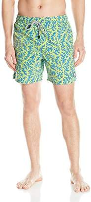 Trunks Tom & Teddy Men's Elastic Waist Animal Print Swim
