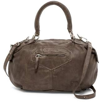Liebeskind Berlin Damba Leather Tumble Wash Shoulder Bag