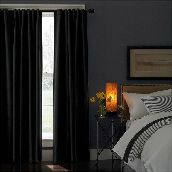 CHFChf Saville Rod-Pocket Back-Tab Curtain Panel