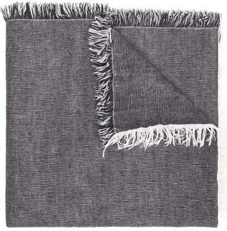 Eleventy fringed hem scarf
