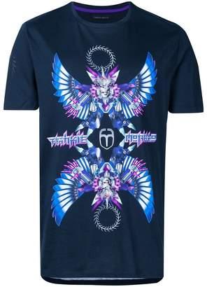 Frankie Morello anime print T-shirt