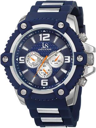 Joshua & Sons Men's Men's Swiss Quartz Multifunction Watch