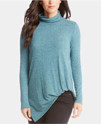 Karen Kane Asymmetrical Turtleneck Sweater