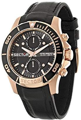 Sector Men's R3251577004 Analog Display Quartz Black Watch