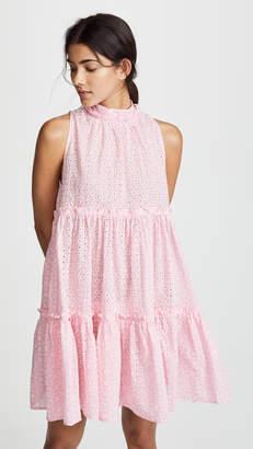 Lisa Marie Fernandez Erica Mini Ruffle Tier Dress