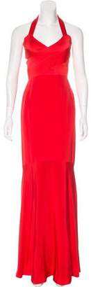 Narciso Rodriguez Silk Evening Dress