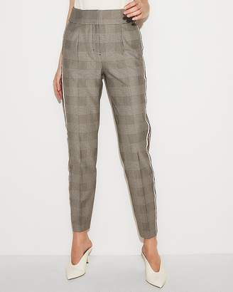 Express High Waisted Side Stripe Ankle Pant
