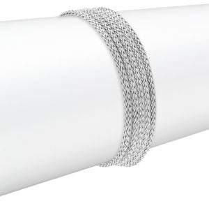 John Hardy Sterling Silver Multi-Strand Bracelet