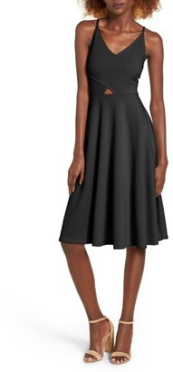 Women's Soprano Cutout Midi Dress $49 thestylecure.com