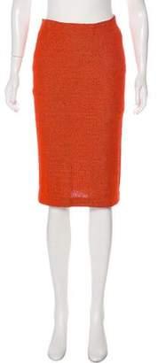 Missoni Woven Pencil Skirt