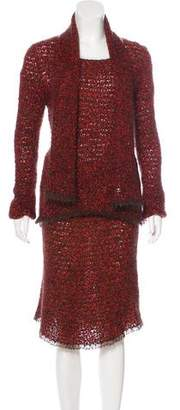 Chanel 3-Piece Skirt Set