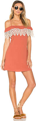 LSPACE L*SPACE Afterglow Dress in Red $119 thestylecure.com