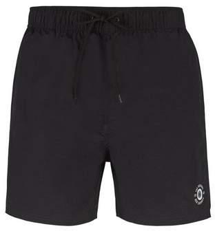 Burton Mens Ben Sherman Black Mid Length Inpanema Swim Shorts*