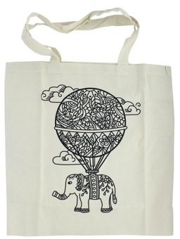 Bead Giant, The The Bead Giant Tote Bags Balloon