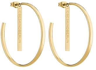 Liebeskind Berlin Women Stainless Steel Hoop Earrings - LJ-0257-E-43