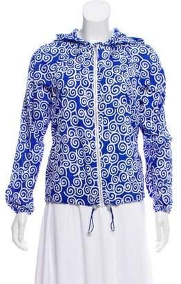 Diane von Furstenberg Ronnie Hooded Jacket w/ Tags