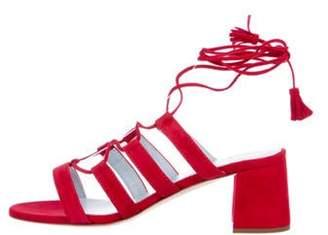 Frances Valentine Suede Ankle Strap Sandals w/ Tags Frances Valentine Suede Ankle Strap Sandals w/ Tags