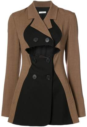 Tome cropped flared blazer