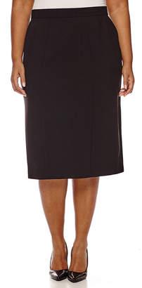 WORTHINGTON Worthington High-Waist Pencil Skirt - Plus