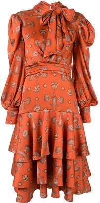 Johanna Ortiz A Typical Tropics Tiered maxi dress