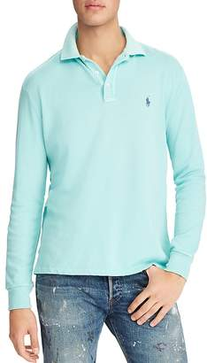 Polo Ralph Lauren Spa Terry Long Sleeve Polo Shirt