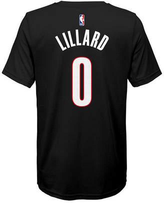 Nike Damian Lillard Portland Trail Blazers Icon Name & Number T-Shirt, Big Boys (8-20)