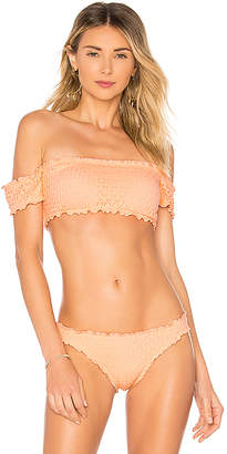Seafolly Havana Bandeau Bikini Top