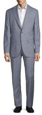 Jack Victor Esprit Textured Wool Suit