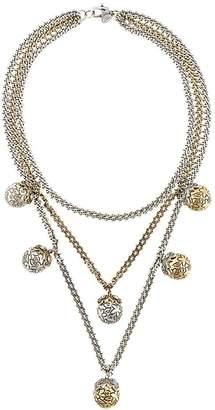 Alexander McQueen triple chain necklace