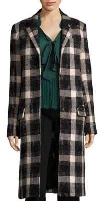 Derek Lam Open-Front Long Coat