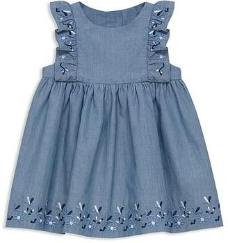 Tartine et Chocolat Girls' Embroidered Chambray Dress - Baby