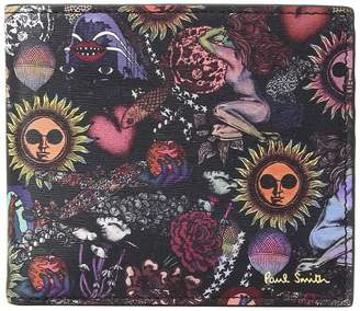 Paul Smith 1974 Print Billfold Bill-fold Wallet