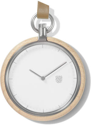 "Auteur Maple Pocket Watch ""Memento Sand"""