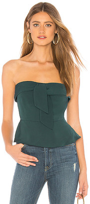 About Us Lilly Peplum Top