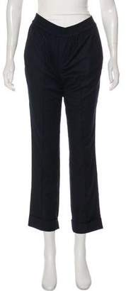 ATM Anthony Thomas Melillo Mid-Rise Straight Pants