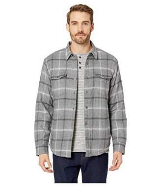 Lucky Brand Men's Plaid Sherpa Shirt Jacket