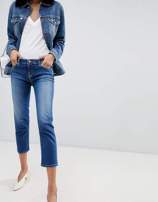 Emporio Armani (エンポリオ アルマーニ) - Emporio Armani Super Skinny Crop Jeans