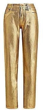 Ralph Lauren Women's Slim Foil Jeans