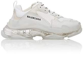 Balenciaga Women's Triple S Air Sneakers - White