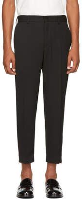 McQ Black Doherty Trousers
