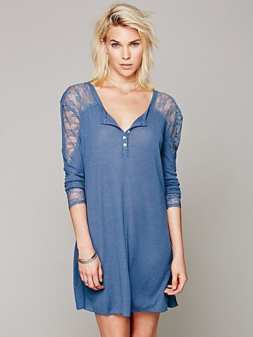 Free People Lacey Lounge Henley