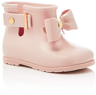 Mini Melissa Girls' Sugar Rainbow Rain Boots - Toddler $68 thestylecure.com