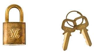 Louis Vuitton Lock and Key Set