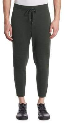 Issey Miyake Milan Wool Moto Sweatpants